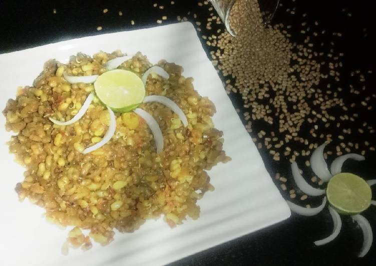 10 Minute Recipe of Ultimate Masala sprouts