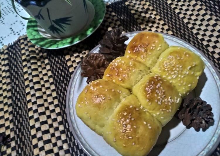 Roti Isi Coklat Tanpa Ulen