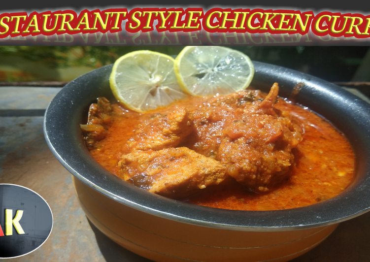 Recipe of Homemade Restaurant Style Chicken Curry