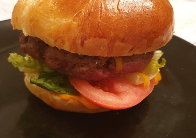 Pain a hamburger moelleux