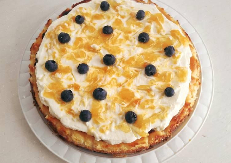 Tarta de queso (con horno)