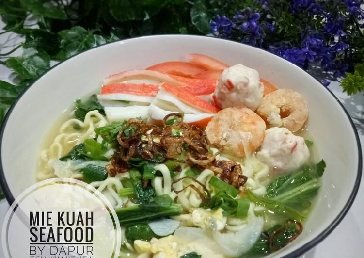 Mie Kuah Seafood  (#pr_anekamiekuah)