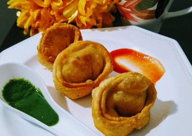 What are some Dinner Easy Homemade Samosa in momo style