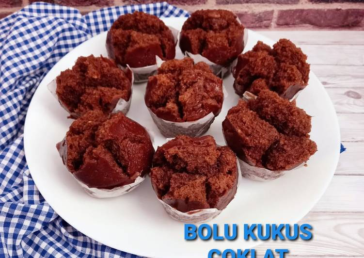 Bolu Kukus Coklat (Egless no Mixer)