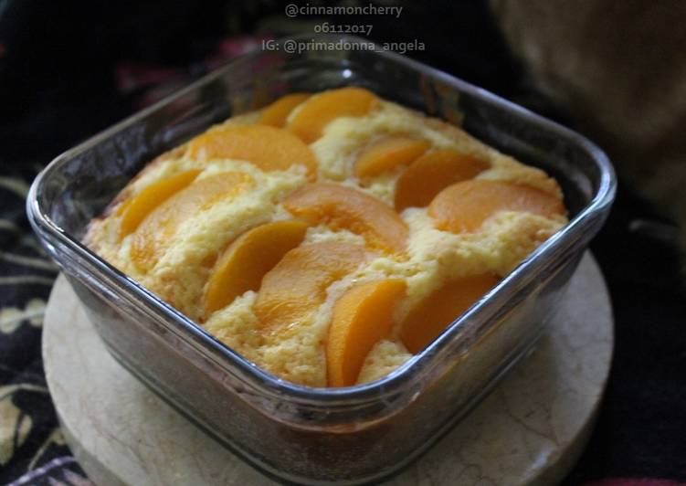 Simple Way to Make Perfect Peach Cake