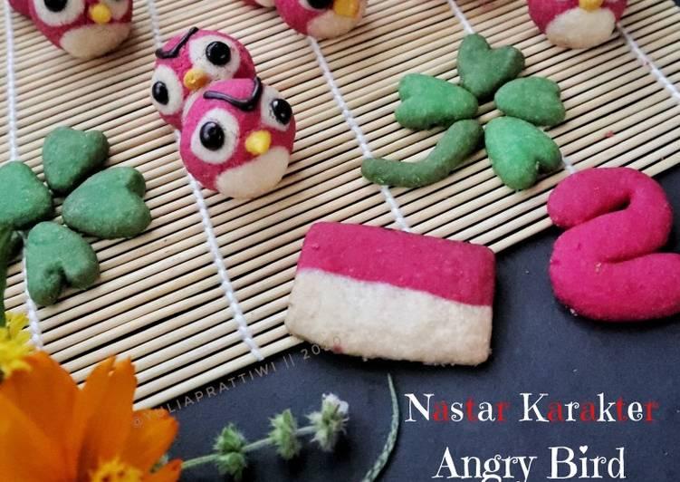 Nastar Karakter Angry Bird (Eggless)