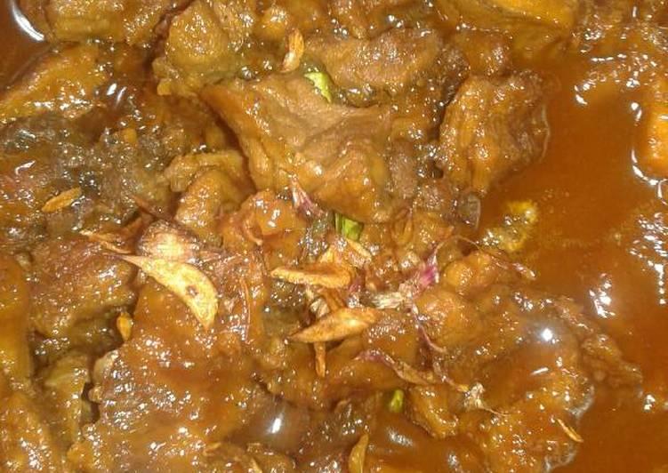 Semur daging sapi makyusss