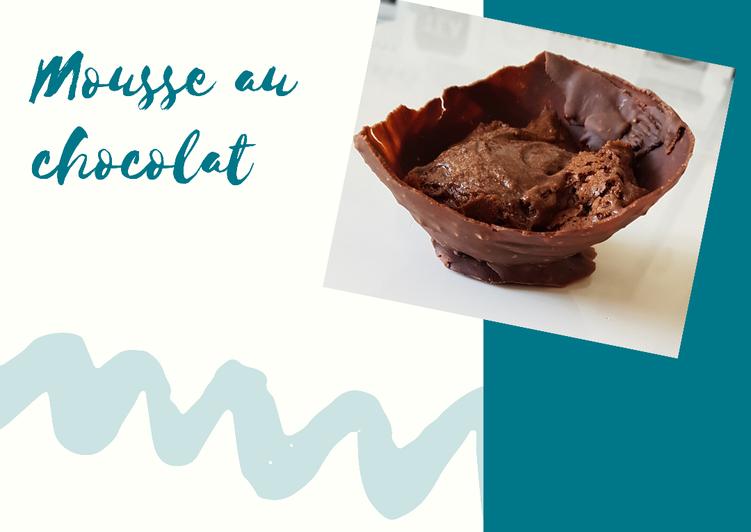 recette Mousse au chocolat Le plus simple