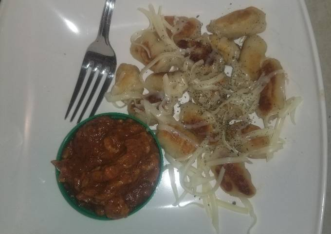 """Meat sauce(from the """"Gnocci Gnite"""")"""