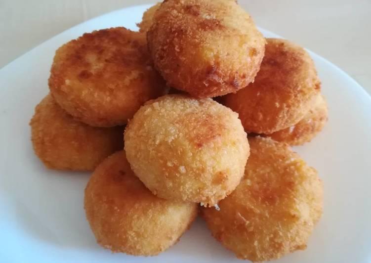 Arancini (Bolitas de arroz)