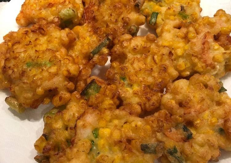 Corn Fritters aka Bakwan Jagung