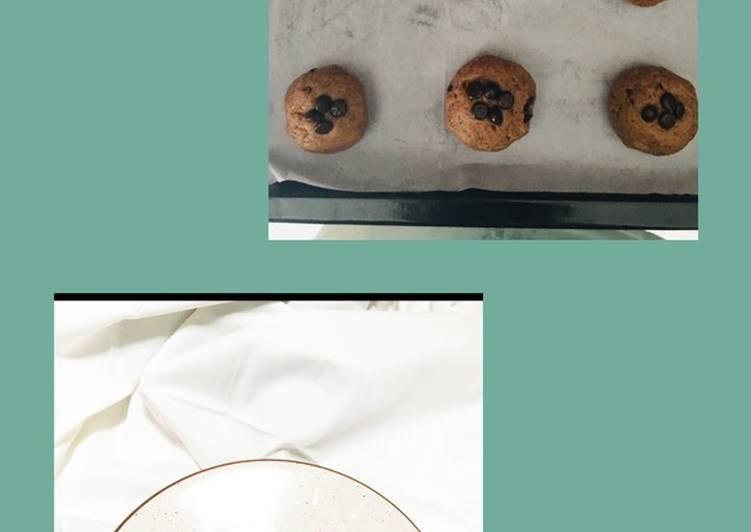 Crispi milo cookies