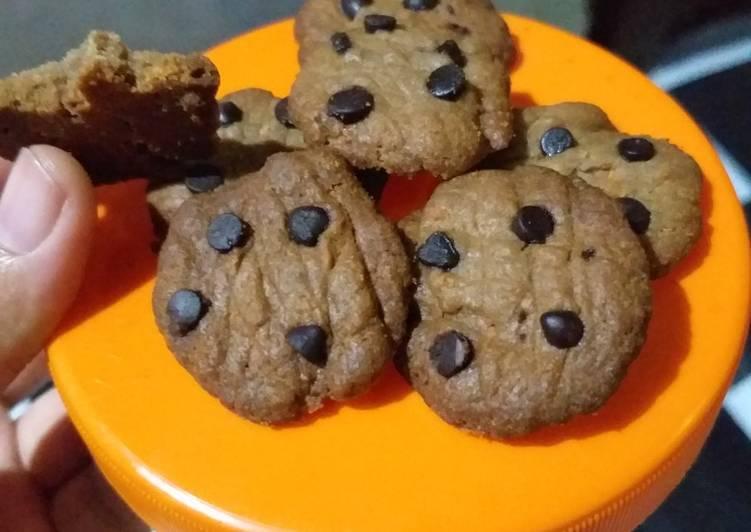Cookies Chocochip 5 bahan anti gagal pake teflon