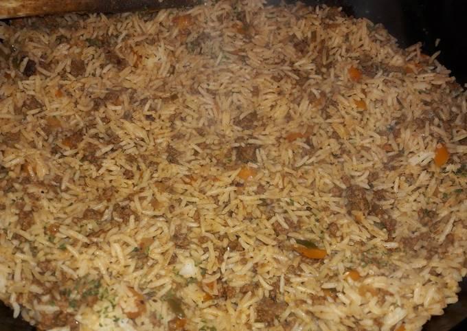 My burrito beef rice