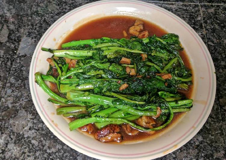 Oyster Sauce Greens