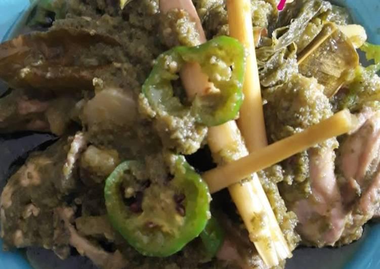 Ayam cabe ijo asli masakan padang