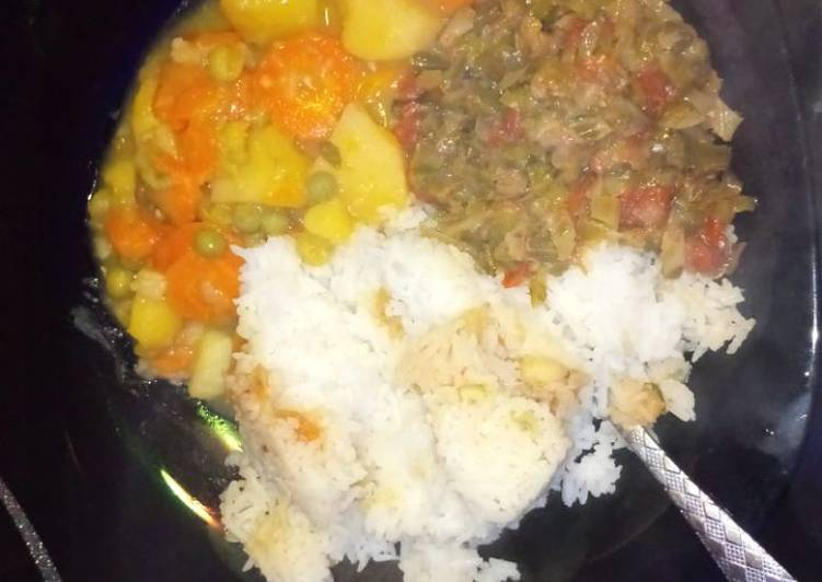 Foods That Can Make You Happy Rice and Peas