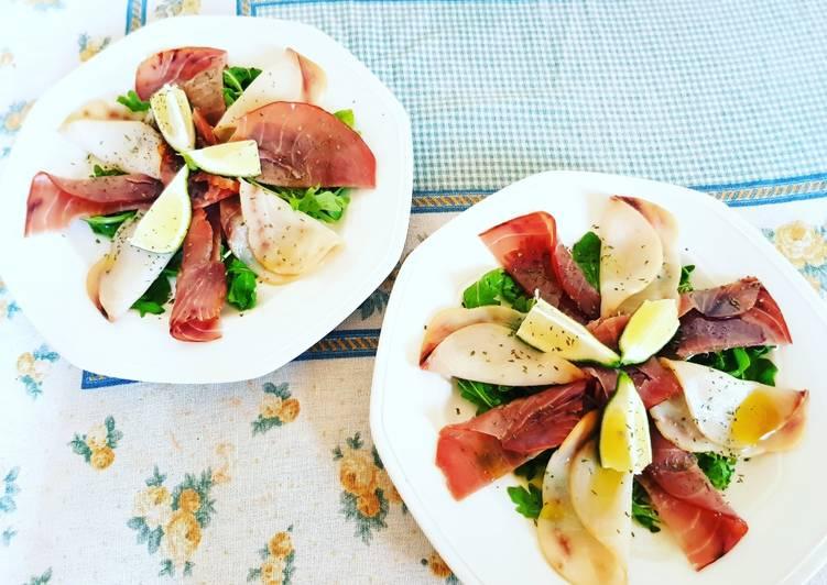Recipe of Favorite Carpaccio di pesce spada e tonno su letto di rucola