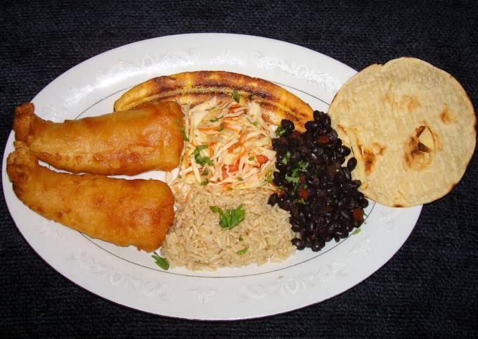 FRY FISH CASADO. JON STYLE