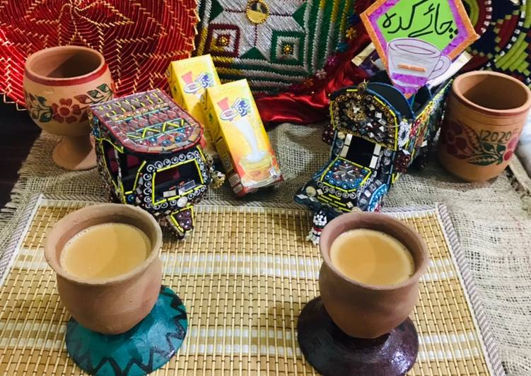 Recipe of Award-winning Dhaba style chai(truck driver tea)