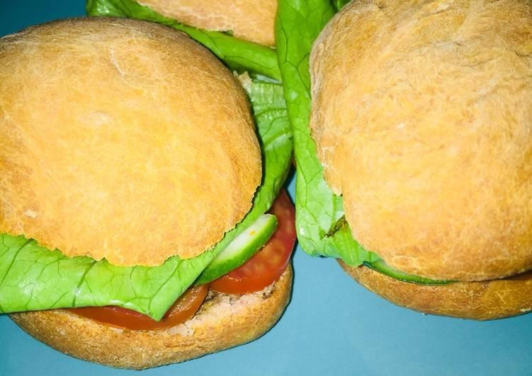 Recipe: Tasty Tuna burger