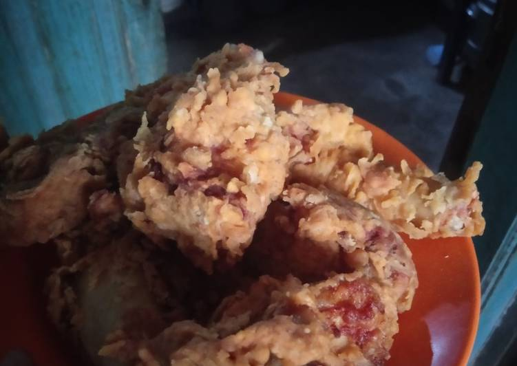 Ayam krispi home made