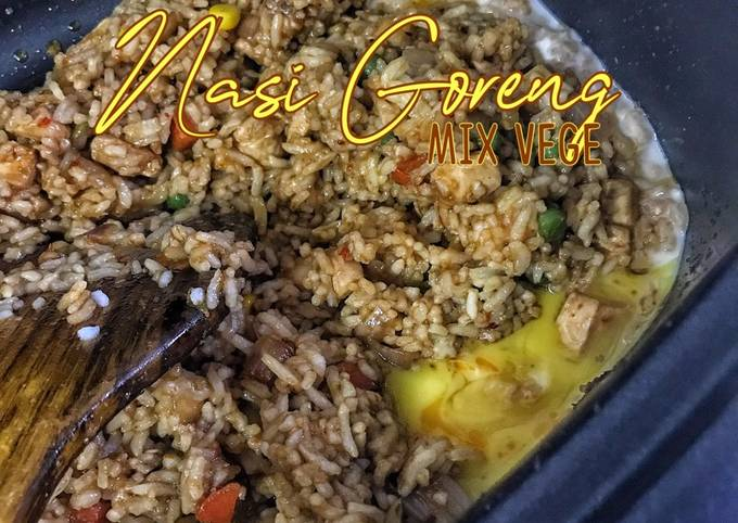 Nasi Goreng Mix Vege