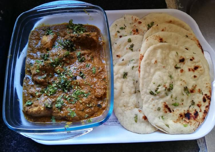 How to Make Award-winning Chicken curry with tandoor roti