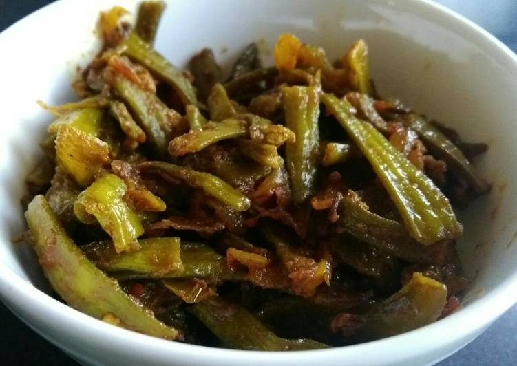 How to Cook Delicious Guwar (cluster beans) Do Pyaza
