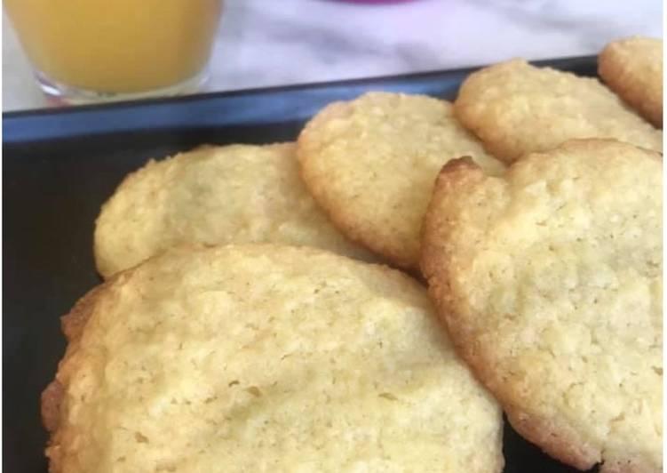 Le moyen le plus simple de Cuire Savoureux Cookies coco vanille