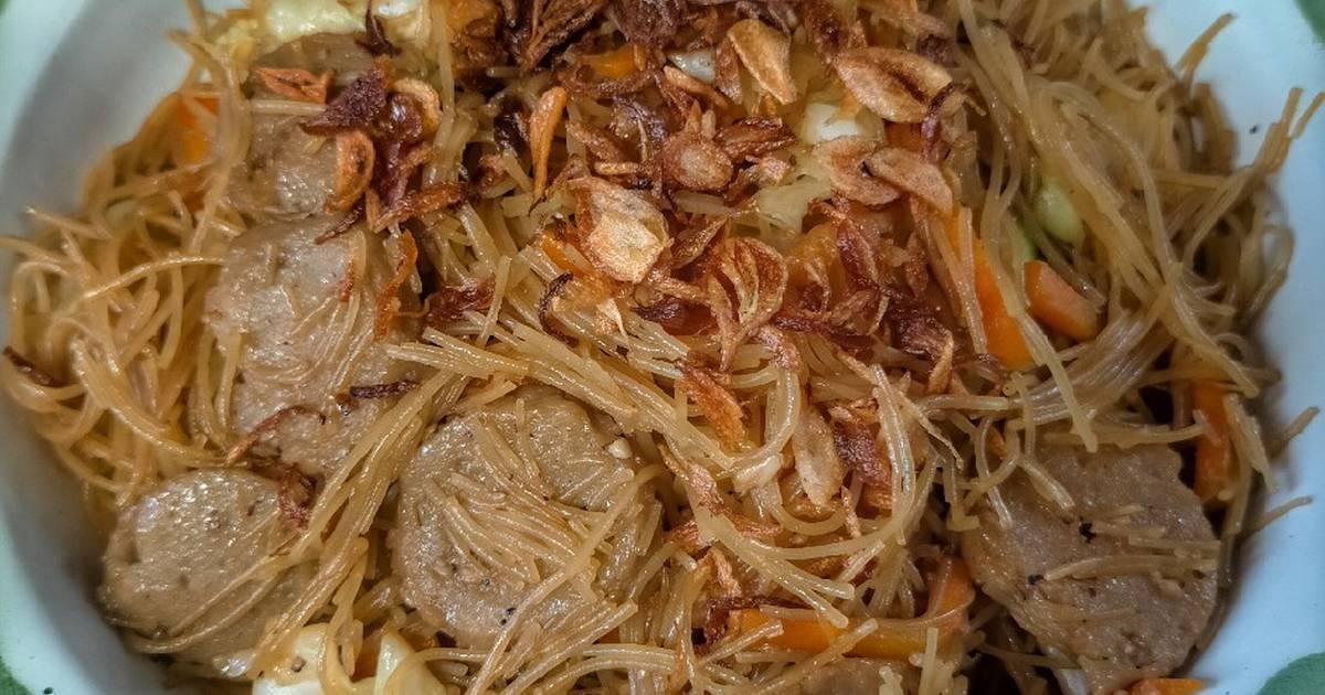 resep bihun goreng sedap enak  sederhana ala rumahan cookpad Resepi Japchae Enak dan Mudah