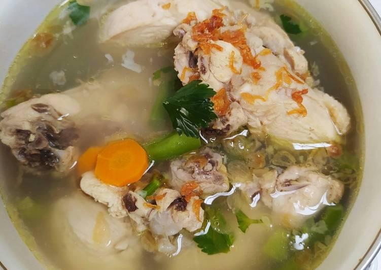 Sup Ayam (ala Pak Min)