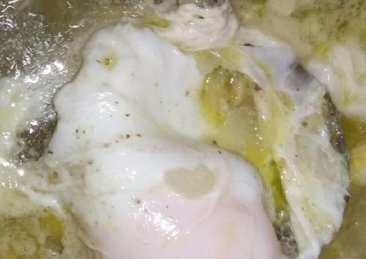 Telur celup kuah putih
