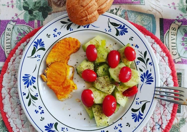 Pesce Spada con verdure e spezie..😛😛😋😋