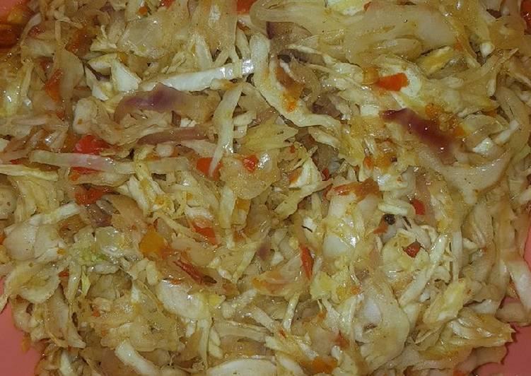 Recipe of Award-winning Masala Cabbage