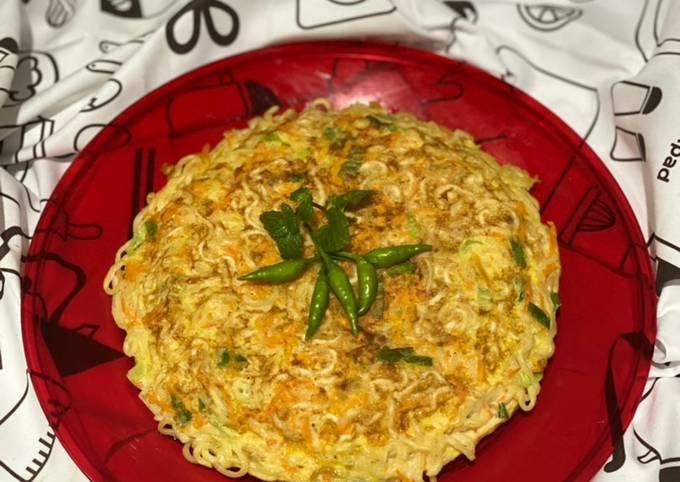 Bagaimana Membuat Omelette Mie Telur Ala Desi Trisnawati MasterChef Indonesia