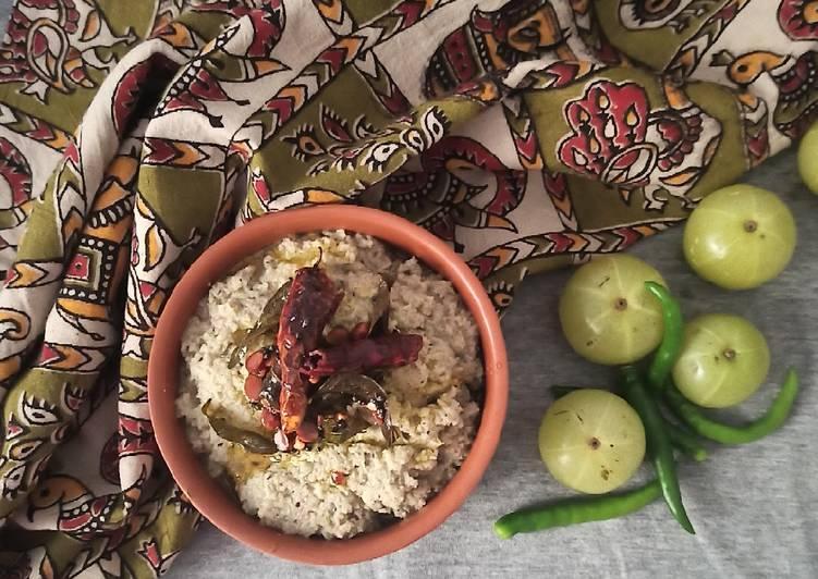 Recipe of Quick Amla Chutney