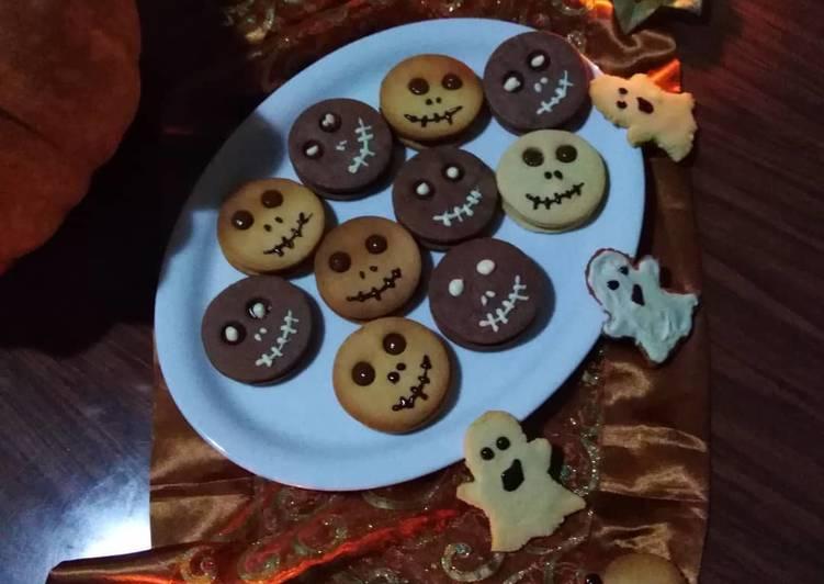 Biscotti Halloween Jack o' lantern