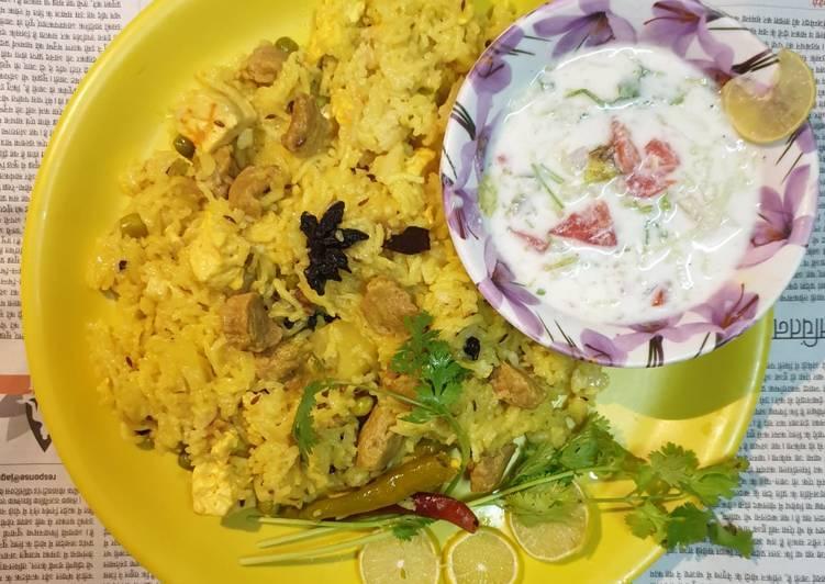 Simple Way to Prepare Homemade Soyabean Pulao