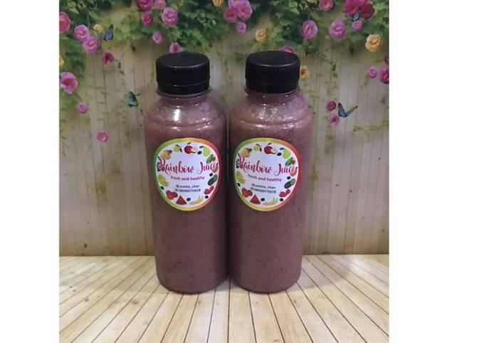 Diet Juice Avocado Blueberry Jambu Kristal Tomato Grape Orange