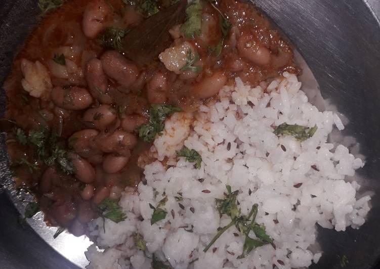 Rajma jeera rice