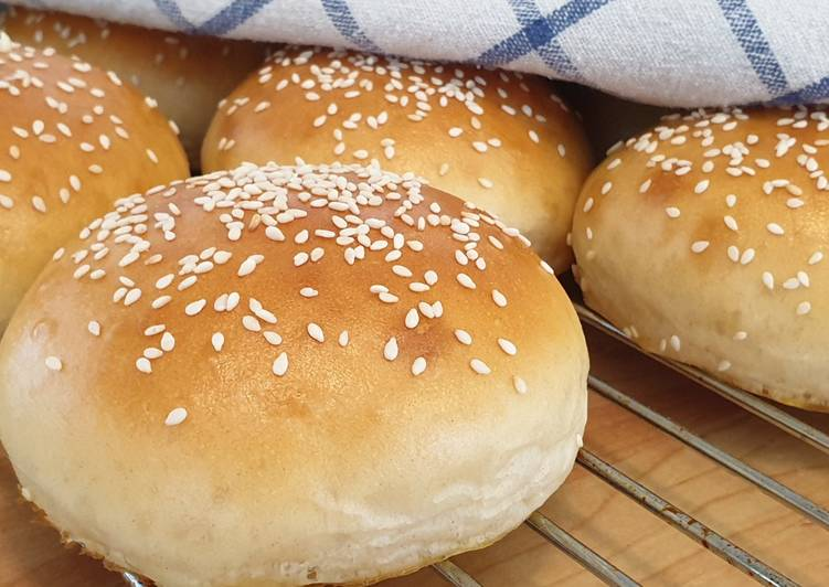 How to Prepare Ultimate Burger buns