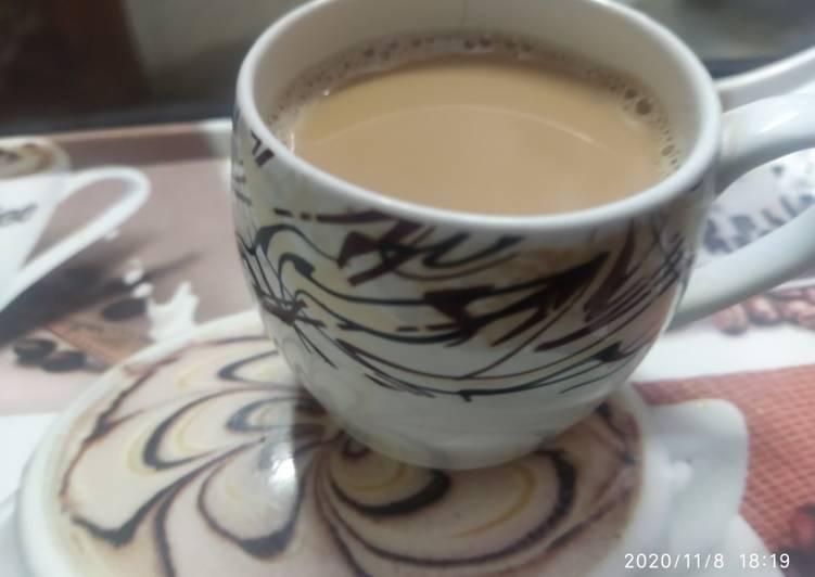 Recipe of Top-Rated Milk ginger tea