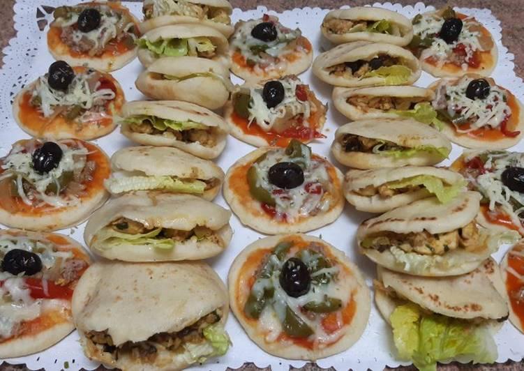 El ftour de ramadán/batbot y mini pizza