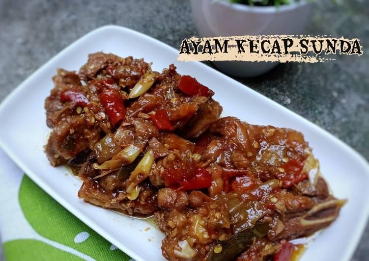 Ayam Kecap Sunda Harus Recook