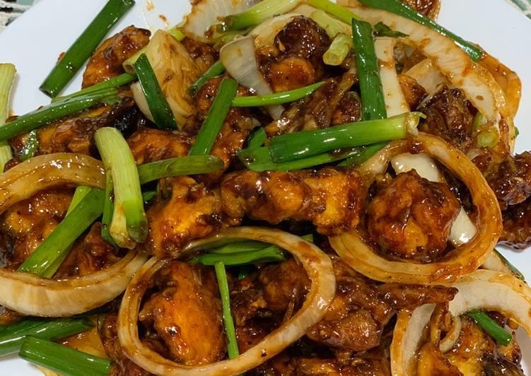 Ayam Masak Lada Hitam Rangup - velavinkabakery.com