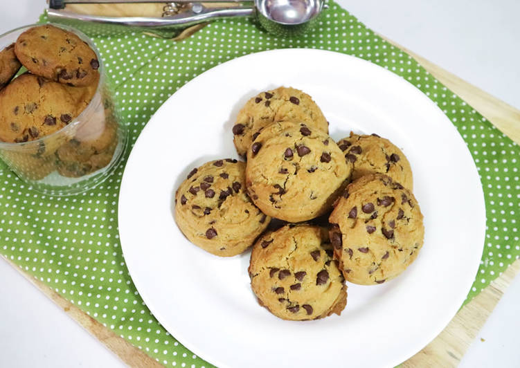 Choco Chip Cookies Praktis, Yummy!