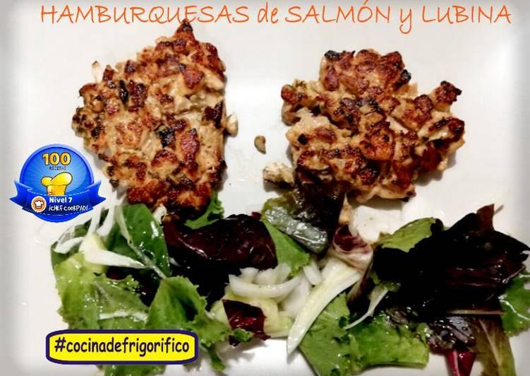 Hamburguesa de Salmón y Lubina