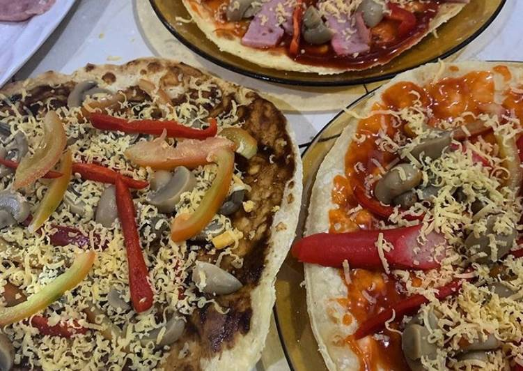 Recipe of Ultimate Homemade Pizza Pita