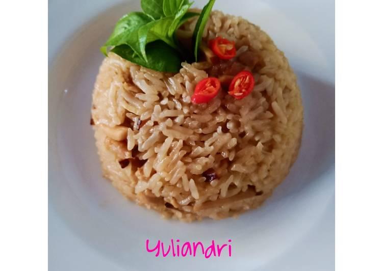 You fan / nasi minyak #kuliner khas taiwan